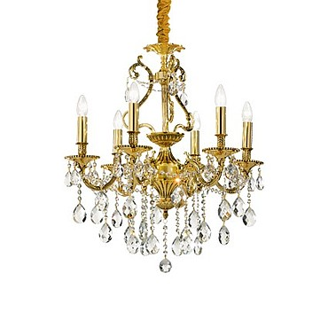 Люстра Ideal Lux Gioconda SP8 Oro PS1020310