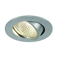 NEW TRIA LED DL ROUND SLV