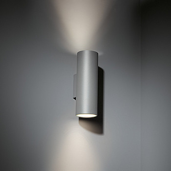 Nude wall IP55 2x LED GI Modular