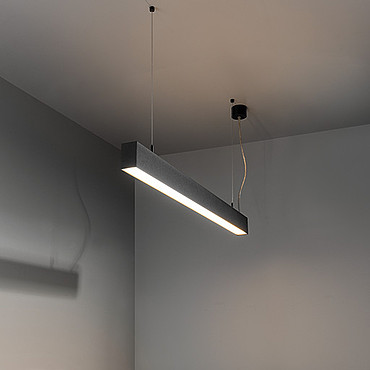 Светильник Modular Esseldi suspension LED 2700K up/down GI white struc 93560014 PS1024396-26941