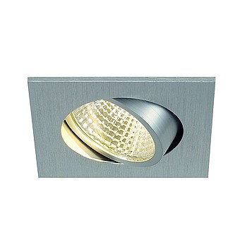 NEW TRIA LED DL SQUARE SLV