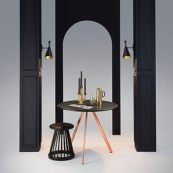 Beat Wall Black Tom Dixon