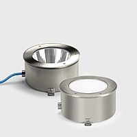 Circular LED drive-over in-ground Bega